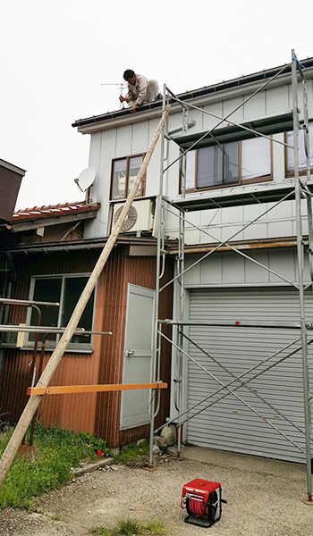一級建築板金技能士 坂木板金工業