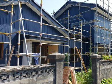 坂木板金工業 外壁工事